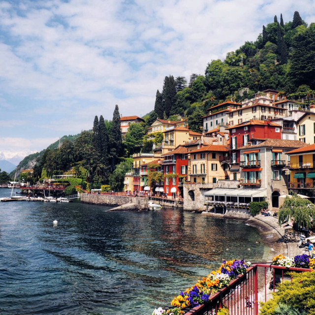 """Lake Como"" stock image"