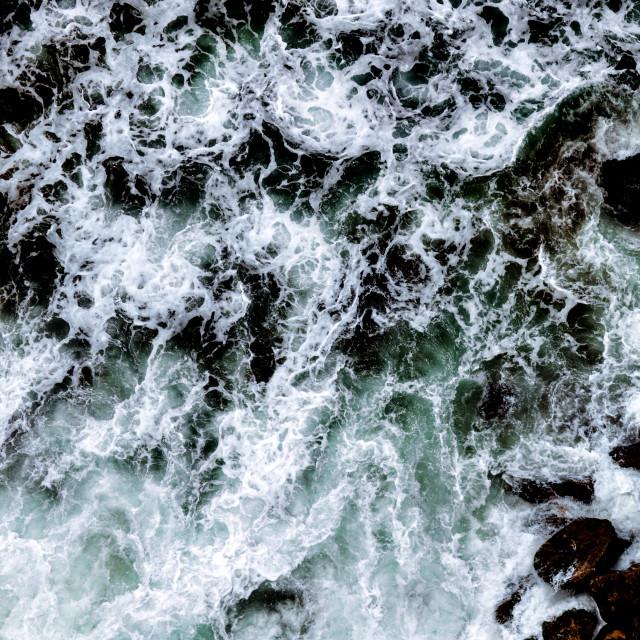 """""""Tasman Sea Maelstrom"""" stock image"""