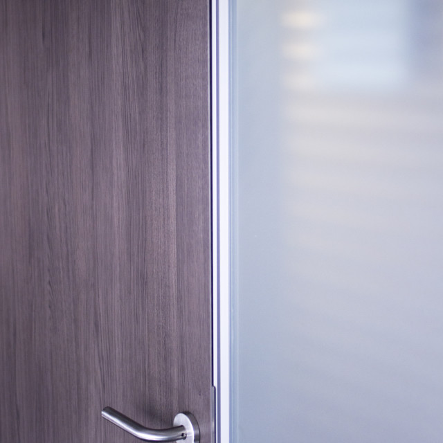 """""""Office meeting room door"""" stock image"""