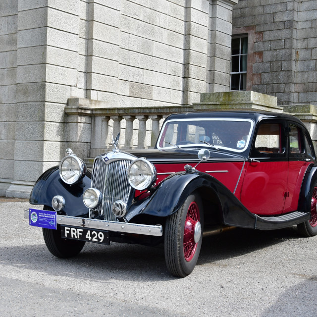 """1930's Riley Kestrel 4 door saloon"" stock image"
