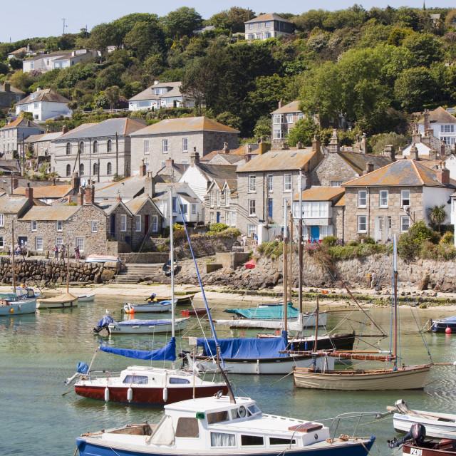 """Mousehole in Cornwall, UK"" stock image"