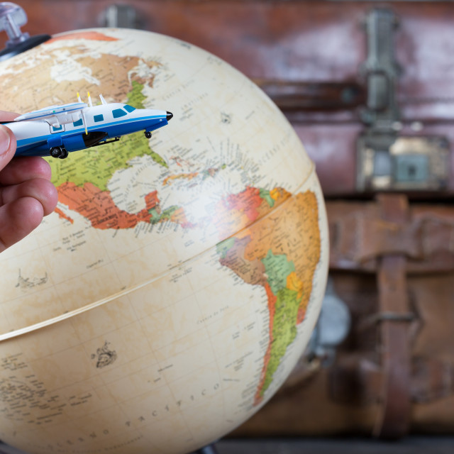 """""""Map of the world"""" stock image"""