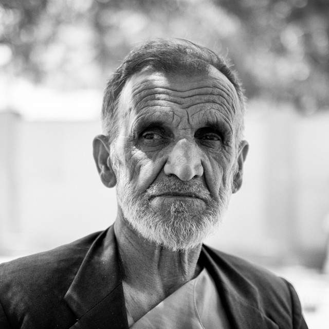 """The Taxi Driver, Kabul - A Life Lived"" stock image"
