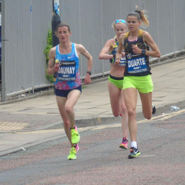 """Great Manchester Run Elite Women"" stock image"