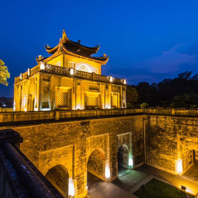 """Imperial Citadel of Thang Long, Hanoi"" stock image"