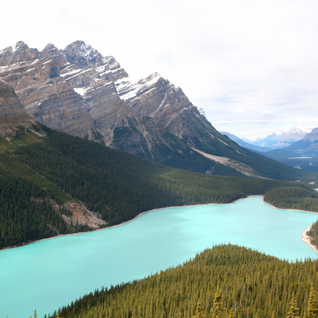 """Rockies lake"" stock image"