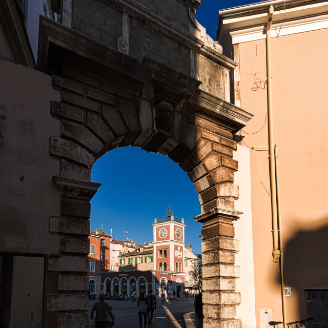 """Arco dei Balbi - Balbijev luk"" stock image"