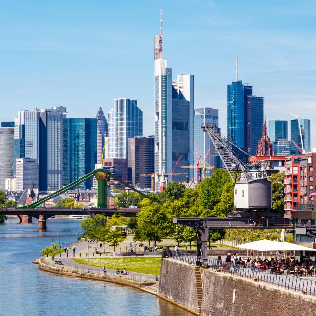 """Frankfurt 61"" stock image"