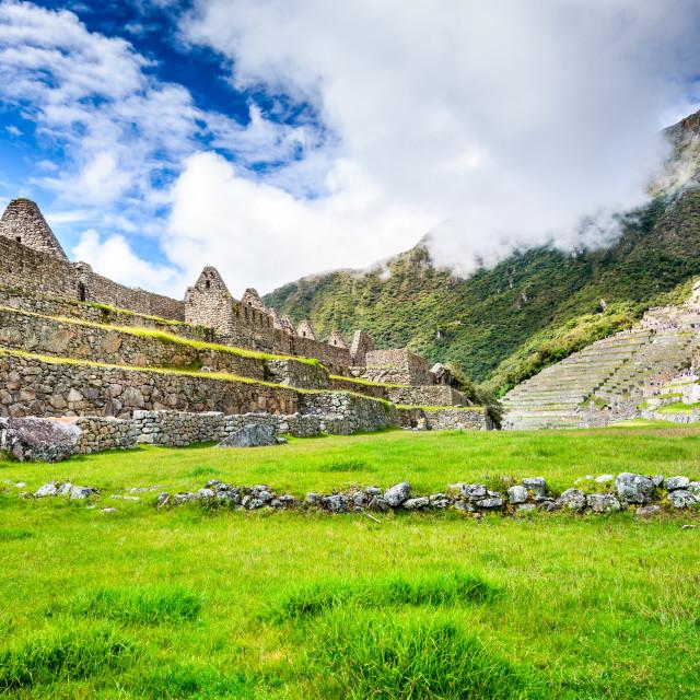 """""""Machu Picchu, Sacred Valley, Cusco - Peru"""" stock image"""