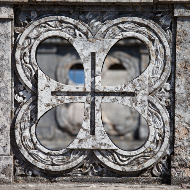 """""""Order of Christ Cross in Portugal"""" stock image"""