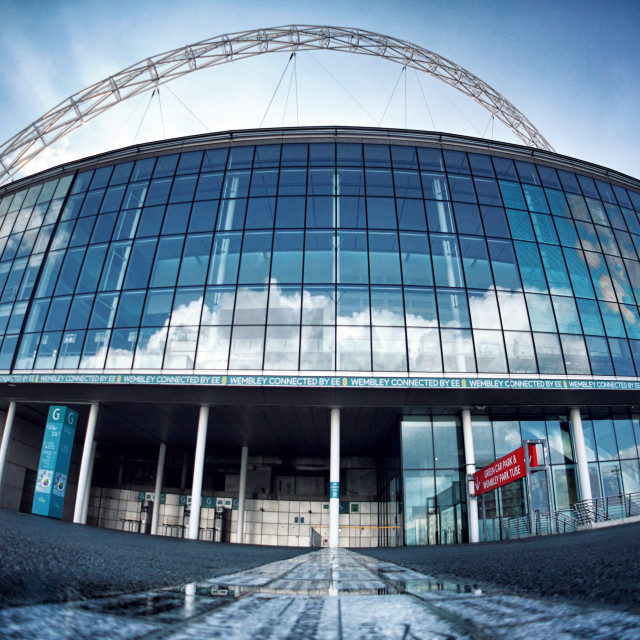"""Wembley"" stock image"