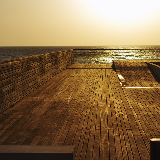 """Sea Deck"" stock image"