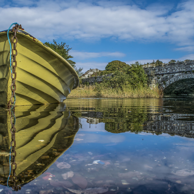 """""""The Little Boat"""" stock image"""