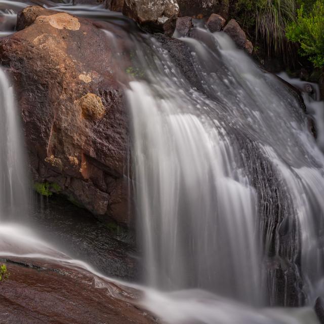 """Arve Falls"" stock image"