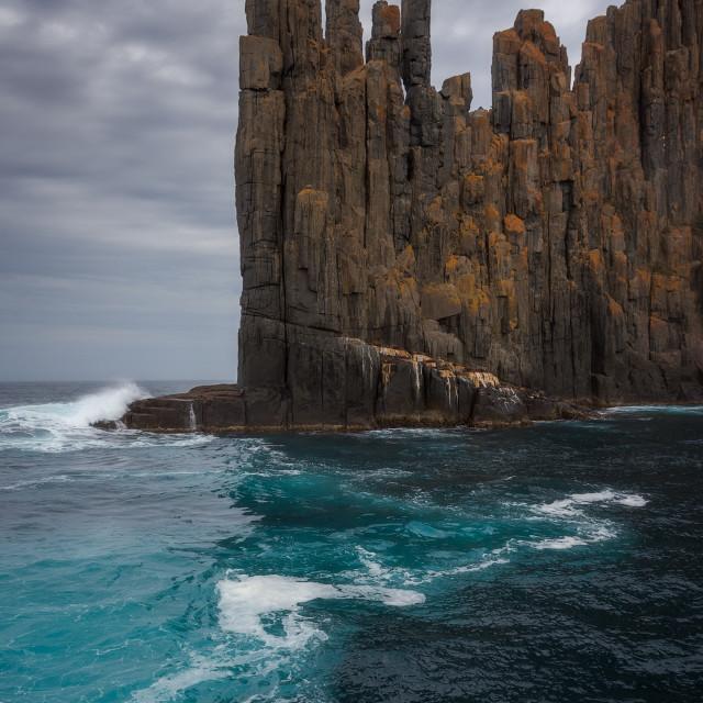 """""""Cape Raoul, Tasmania"""" stock image"""