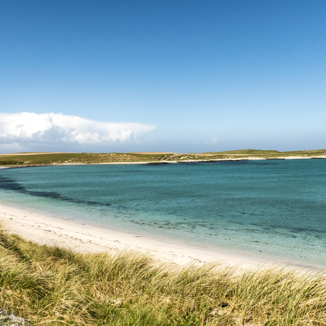 """Scotland - North Uist"" stock image"