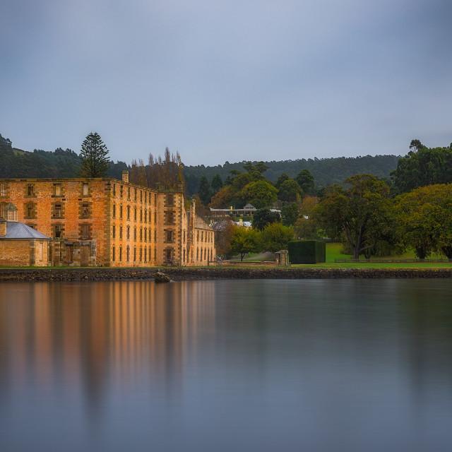 """Port Arthur, Tasmania"" stock image"