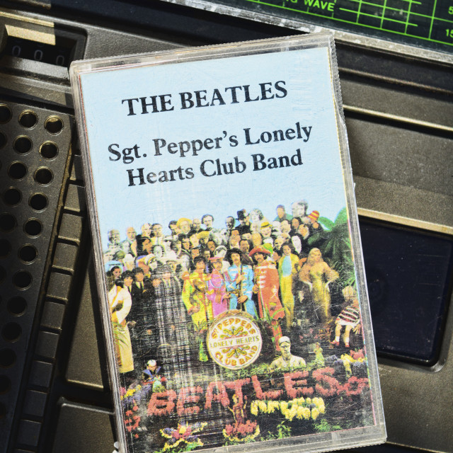 """""""The Beatles, Sgt. Peppers Lonely Hearts Club Band"""" stock image"""