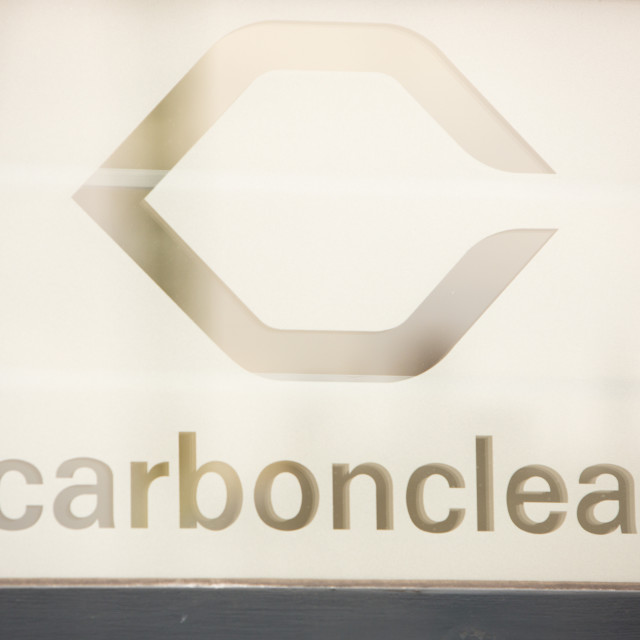 """Carbon Clear, a carbon offset company in London, UK."" stock image"