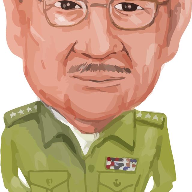 """Raul Castro President Cuba"" stock image"