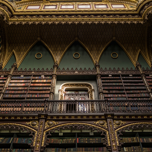 """The Portuguese Royal Library - RJ"" stock image"