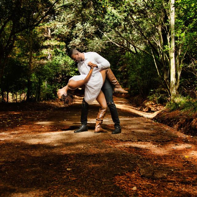 """""""Dancing Couple"""" stock image"""