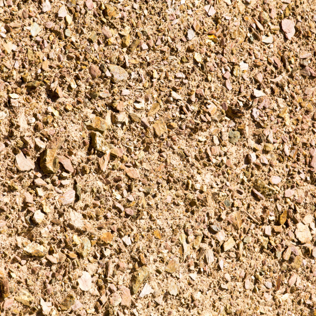"""""""An adobe earth wall, or rammed earth wall at the Mount Pleasant Ecological..."""" stock image"""