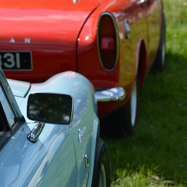 """Sunbeam alpine sports cars."" stock image"