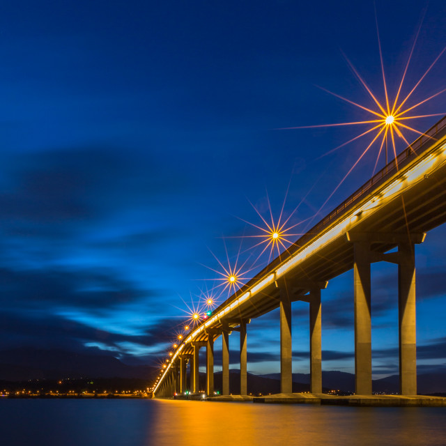 """Tasman Bridge"" stock image"