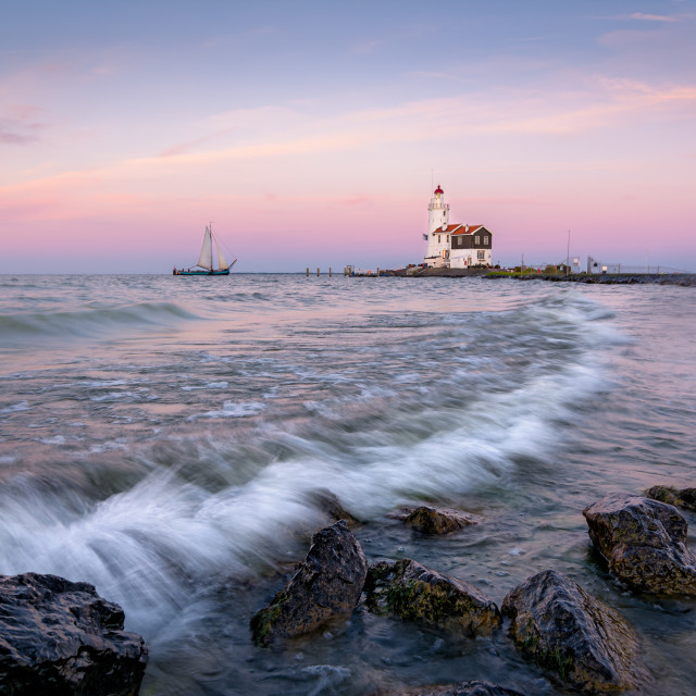"""The Lighthouse"" stock image"