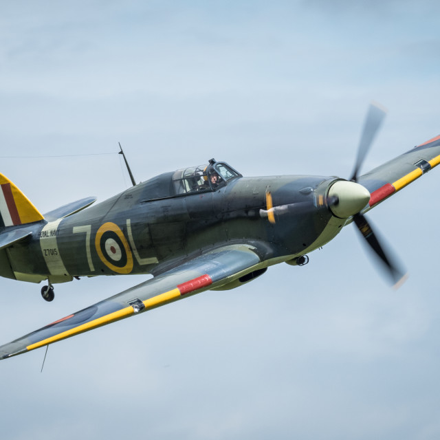 """The Iconic Hawker Hurricane"" stock image"