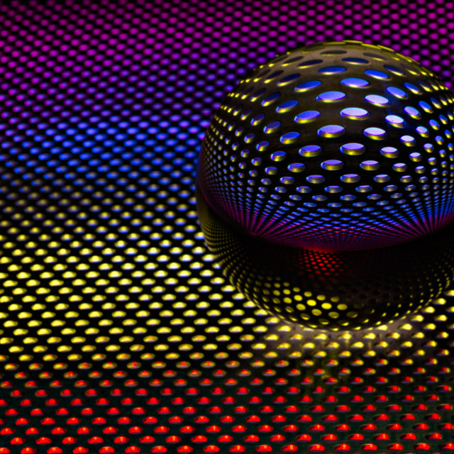 """Sphere of Light"" stock image"
