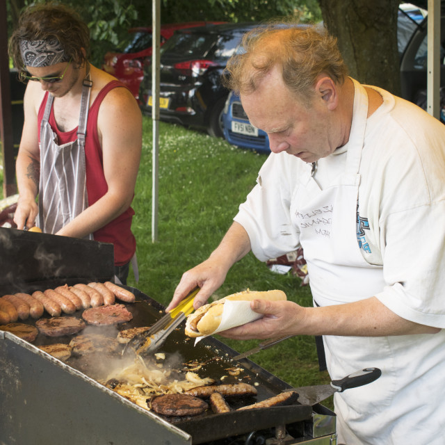 """Summer Fair BBQ"" stock image"