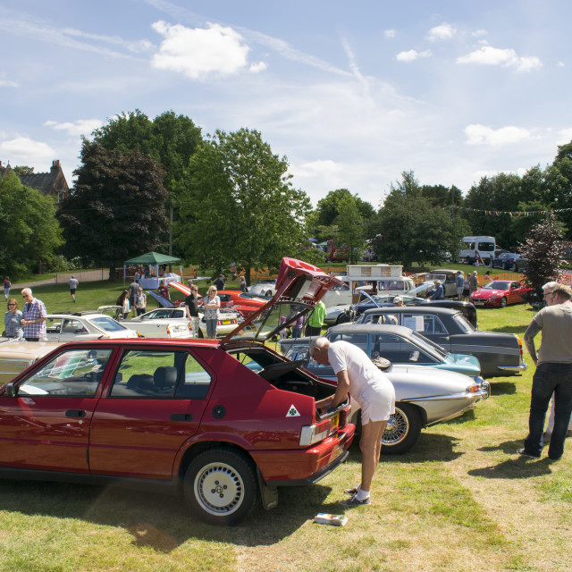 """Summer Fair in Chesham"" stock image"