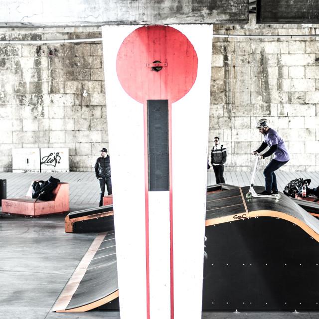 """Skatepark"" stock image"