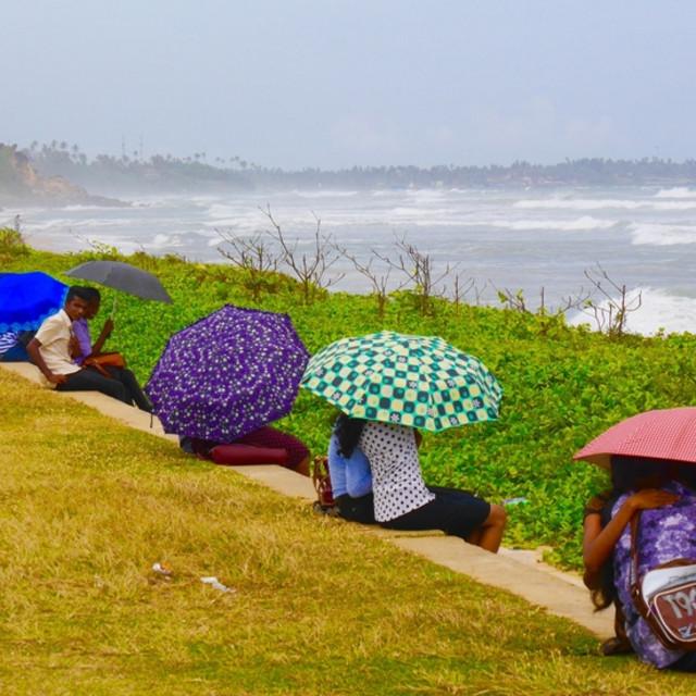 """Umbrella love"" stock image"