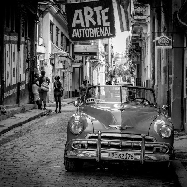"""Havana streets"" stock image"