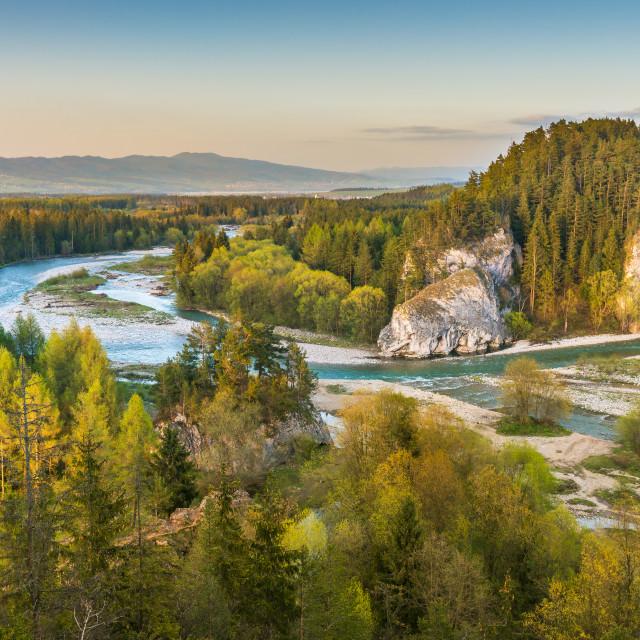 """Beautiful river landscape"" stock image"