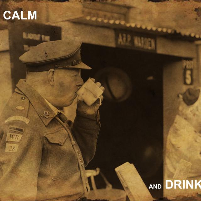 """""""Haworth 1940s weekend"""" stock image"""
