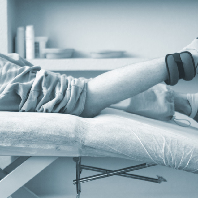 """Physical therapy physiotherapy"" stock image"