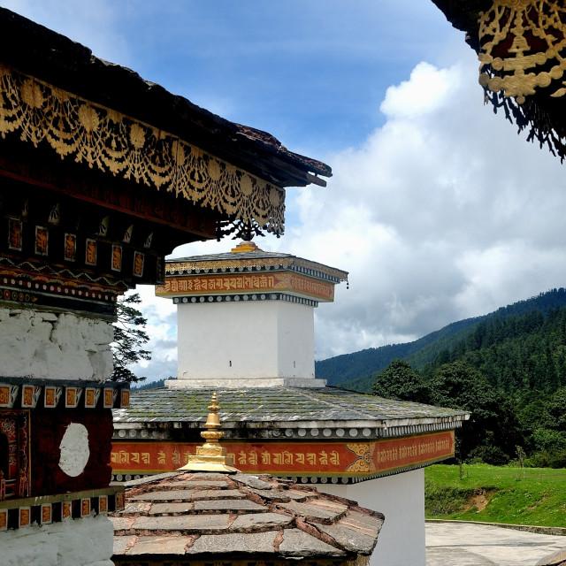 """Beautiful Bhutan"" stock image"