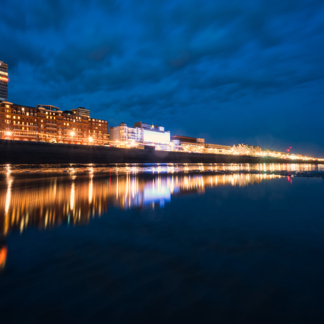 """Brighton Reflections"" stock image"