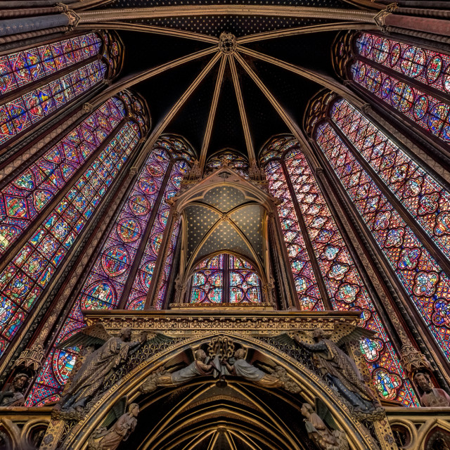 """Sainte Chapelle"" stock image"