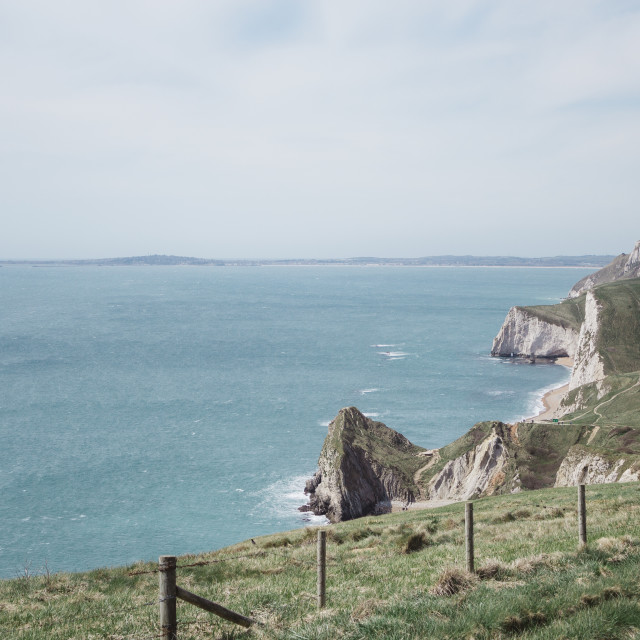 """The Jurassic Coast"" stock image"