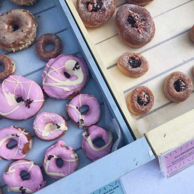 """Doughnuts"" stock image"