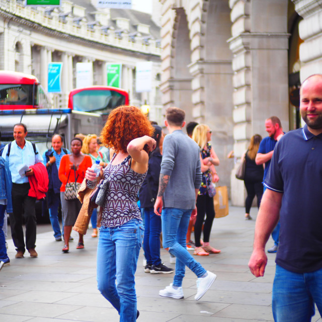 """London's busy streets"" stock image"