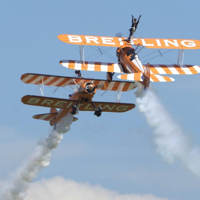 """Breitling close call."" stock image"