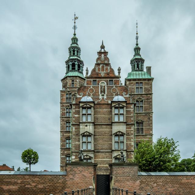 """""""Rosenborg castle Copenhagen, Denmark"""" stock image"""