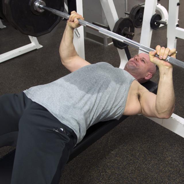 """Lifting Exercises"" stock image"