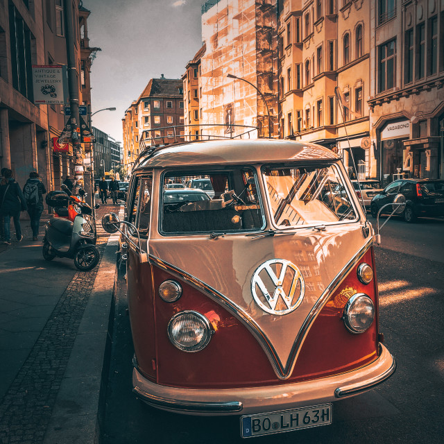 """""""Vintage Volkswagen"""" stock image"""
